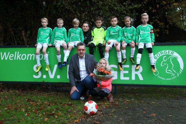 More ThanKidz nieuwe shirtsponsor SV Borger JO9-1.
