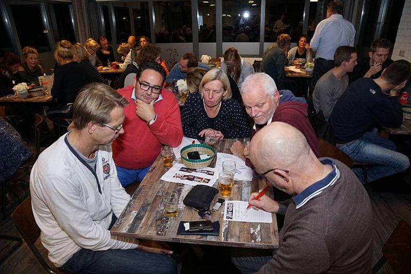Een plezierig avondje quizzen bij SV Borger.