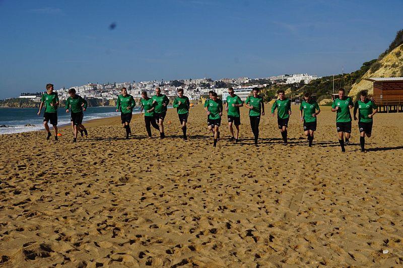 SV Borger 1 'overwintert' in Albufeira, Portugal.