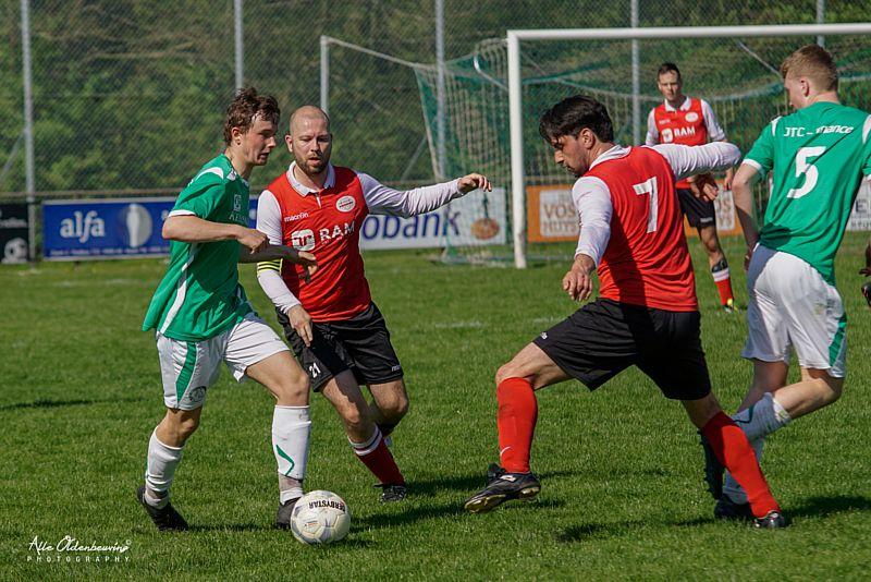 Borger 1 lijdt nipte nederlaag tegen Amicitia VMC
