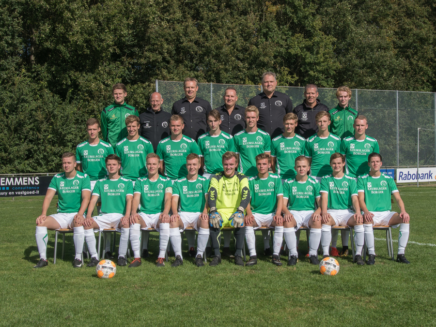SV Borger 1 wint van rood aangelopen Tiendeveen