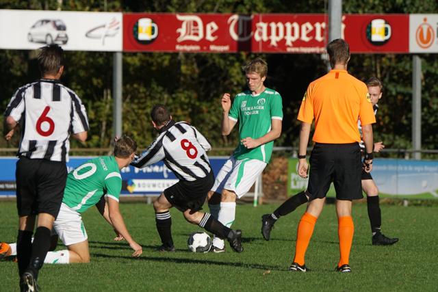 SV Borger na dramatische tweede helft ook puntloos tegen MSC/Amslod