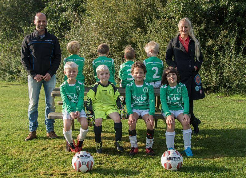 Bleitoe  sponsort SV Borger JO8-3