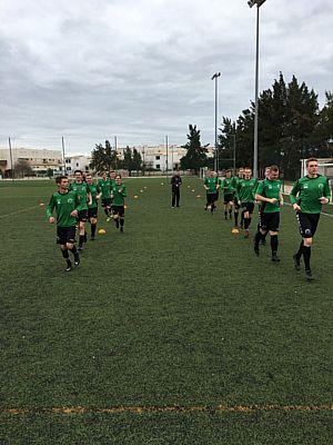 SV Borger 1 'overwintert' in Albufeira (Portugal)