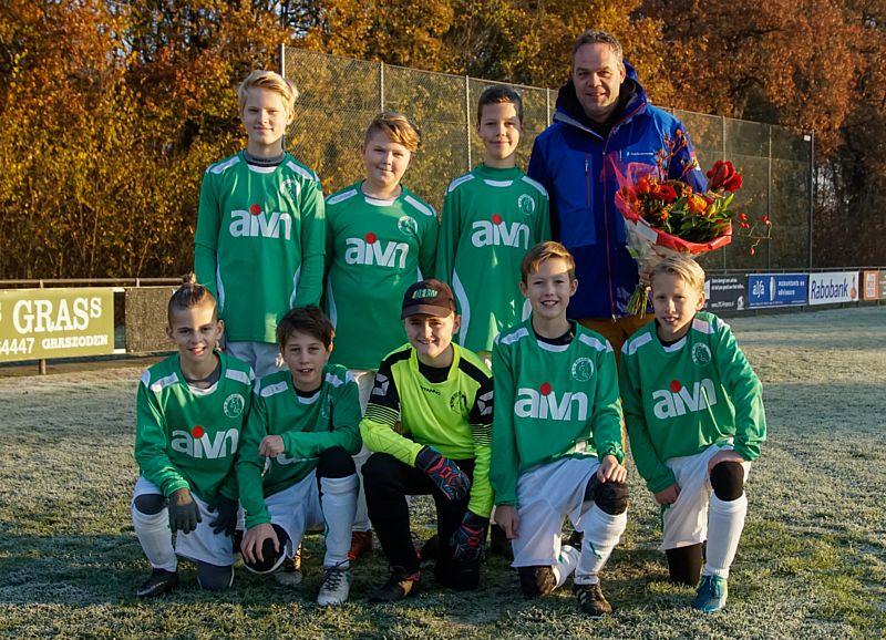 AIVN nieuwe shirtsponsor SV Borger JO12-2
