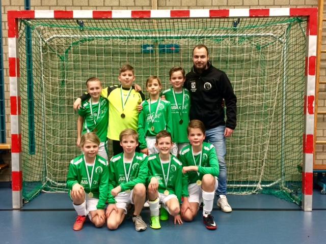 SV Borger JO12-1 zaalkampioen!