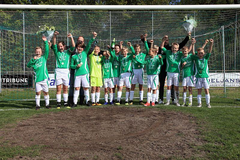 Borger JO13-2 kampioen !!!!