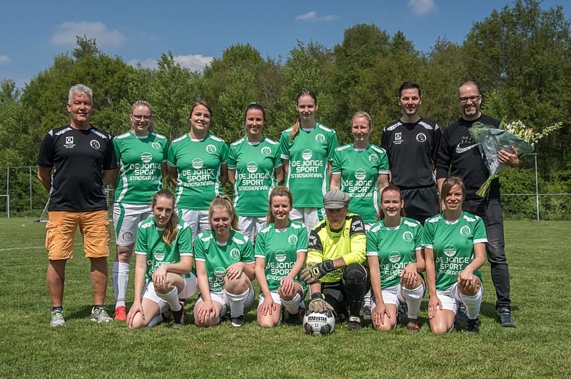 De Jonge Sport nieuwe shirtsponsor SV Borger Vrouwen 1
