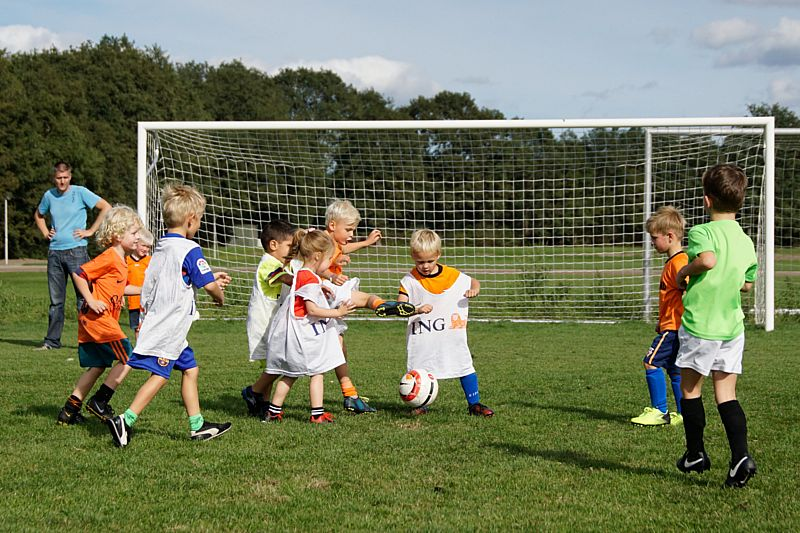 Foto's kaboutervoetbal