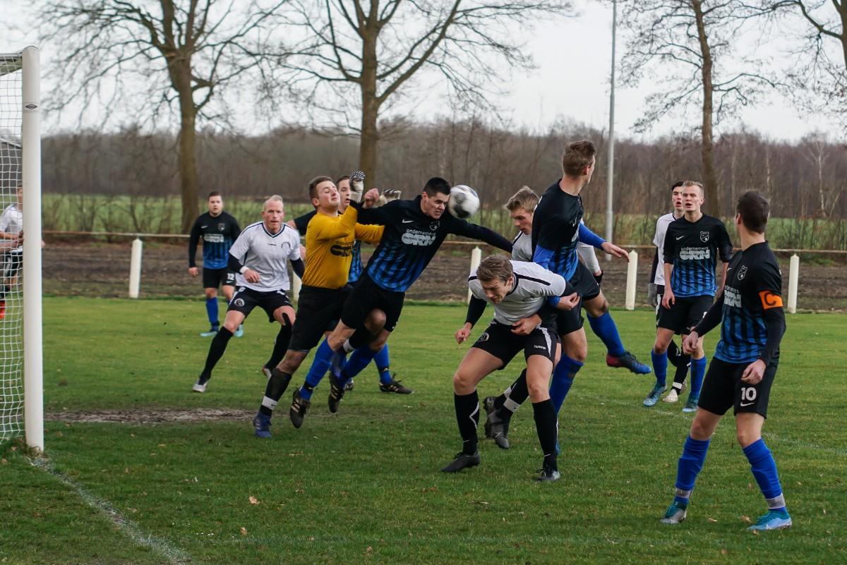 NKVV tegen Borger gestaakt na 76 minuten bij nipte voorsprong voor Borger