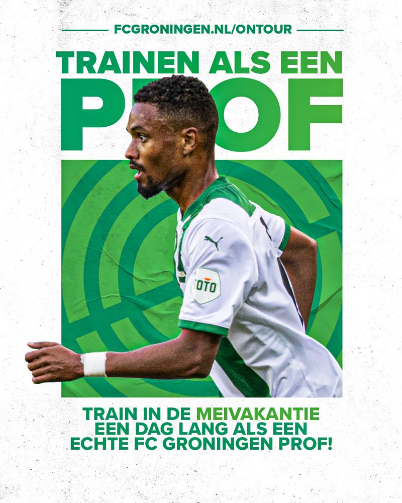FC Groningen on Tour voetbaldagen komt naar Borger!