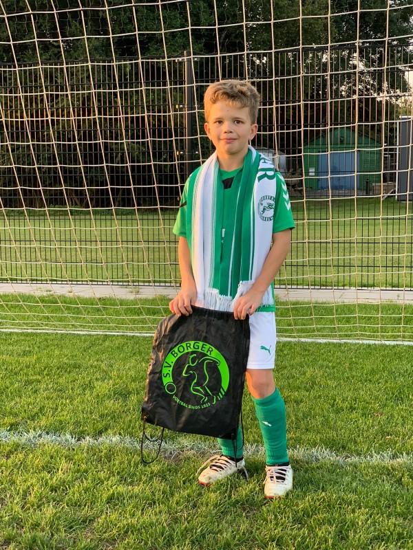 Teije Beukers winnaar fotowedstrijd SV Borger