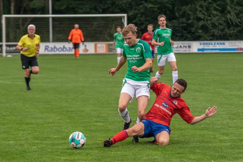SV Borger pakt tegen SV Mussel de tweede zevenklapper op rij