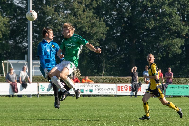 Eerste competitienederlaag voor SV Borger op bezoek bij SCN